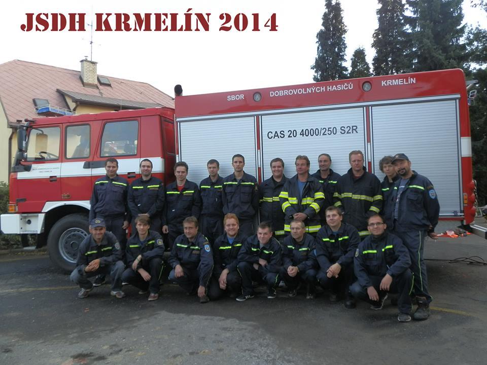 zásahová jednotka SDH Krmelín
